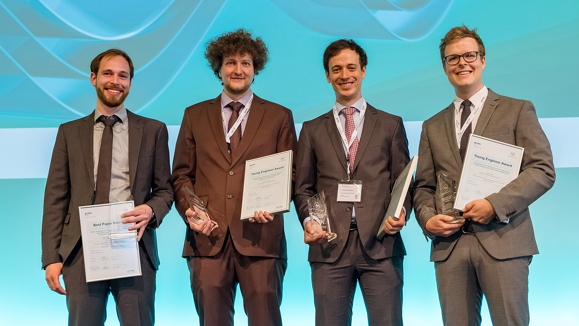 PCIM Europe 2018 Award winners