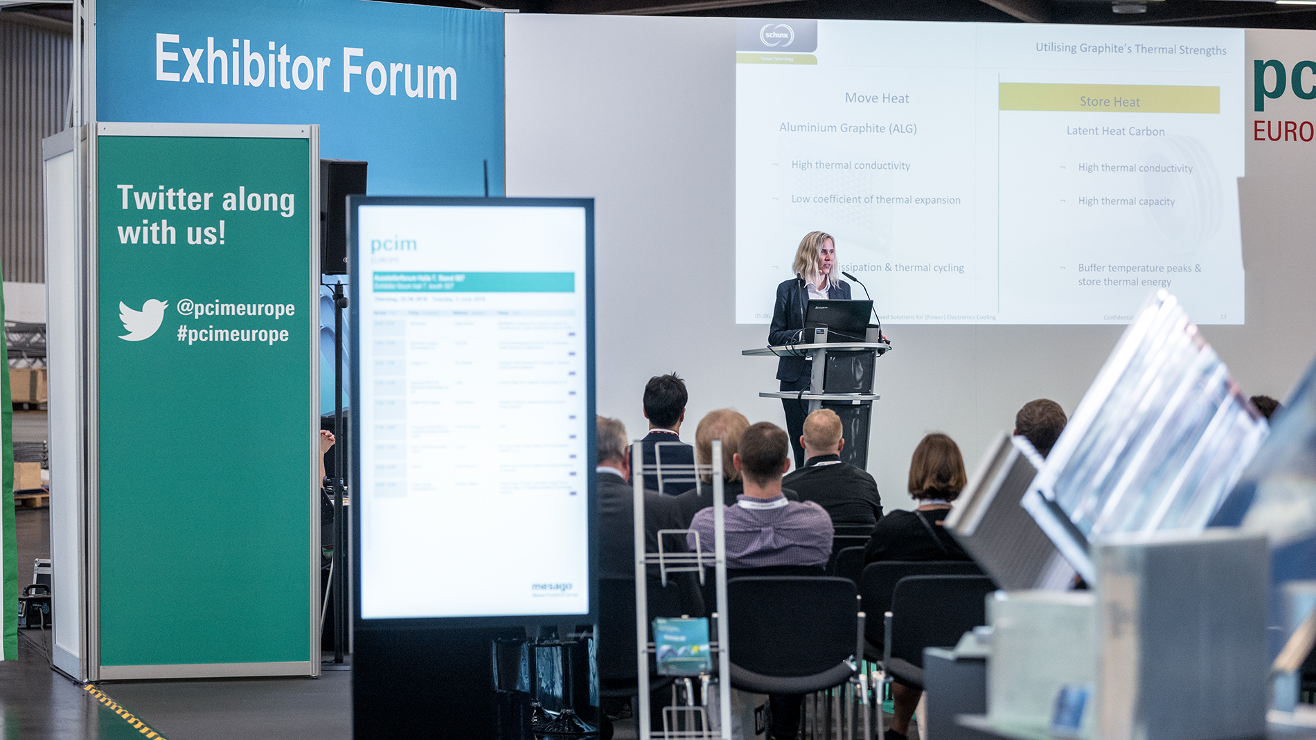 Forums & product presentations - PCIM Europe - Mesago