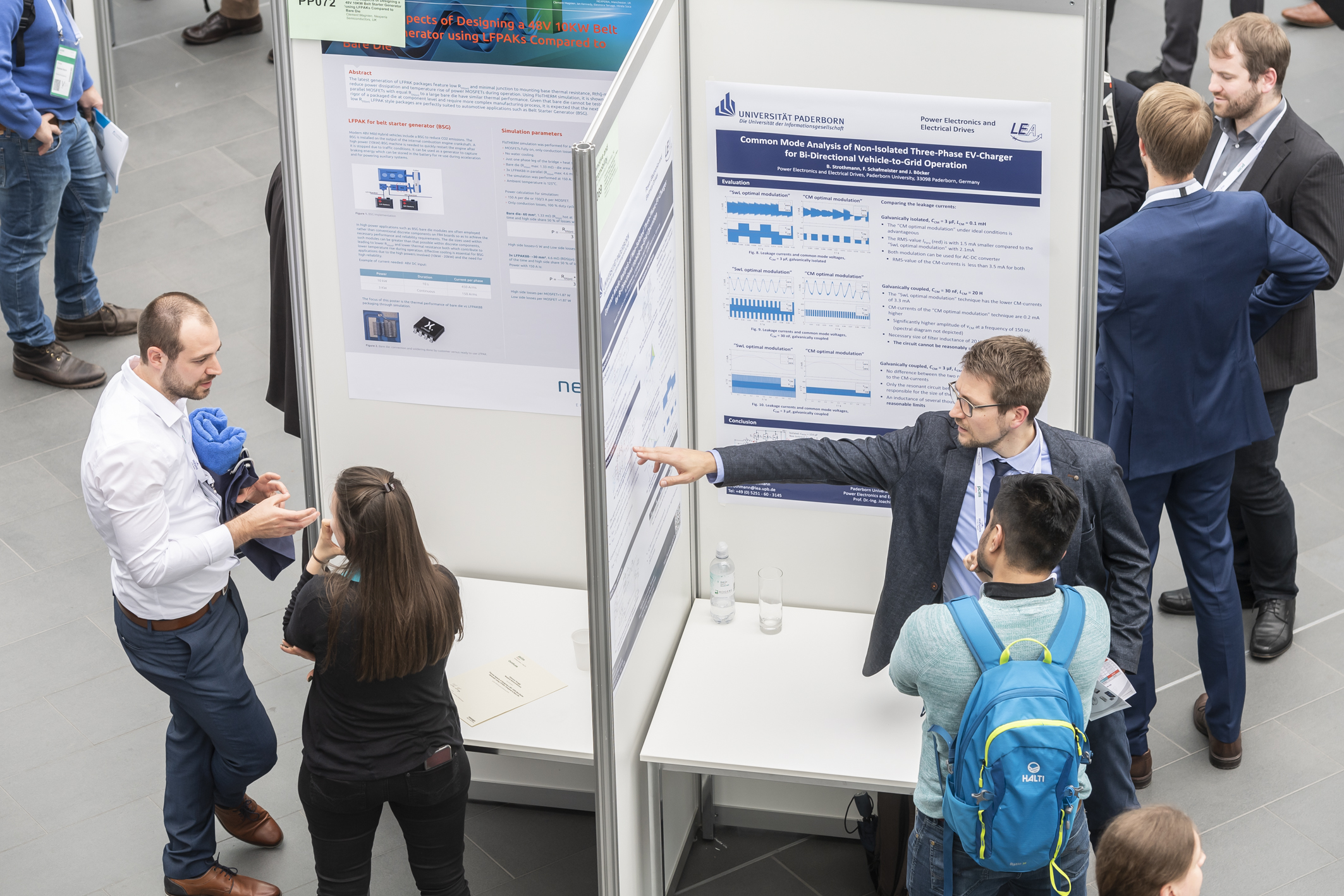 Poster Session - Konferenz der PCIM Europe 2019